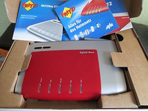 AVM FRITZ!Box WLAN 3272 – WLAN-Router + DSL-Modem WLAN-N 450MBit/s – Dual-Band – USB 2.0-Host – FRITZ!Mini Unterstuetzung – VPN Serviceabwicklung AVM über: 030-390 04 390