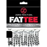 NEW Zero Friction FATTEE Golf Tees 3 Wooden 50 Pack 3.25 Choose Quantity