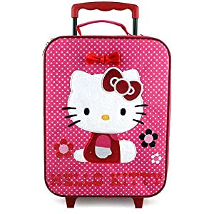Hello Kitty Rolling Luggage Case from Hello Kitty