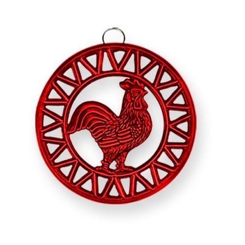 old-dutch-two-tone-red-rooster-trivet-8-inch