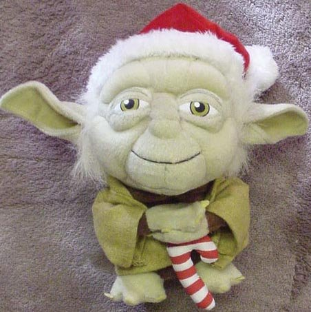 Star Wars Super Deformed Santa Yoda