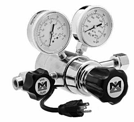 Matheson Heated Dual Stage Brass Barstock Regulator, Model 3540