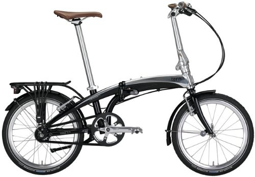 Fahrrad 20&quot;, black mirror, 11-Gang