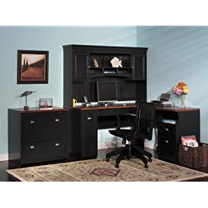 Home Office Furniture Set - Fairview Collection - Bush Office Furniture - FAIR-OSET-1