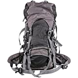 Airthea® 60L Huge Ultralight Outdoor Sport Camping Hiking Travel Backpack Waterproof Mountaineering Bag Outdoor Backpacks with Waist Pack for Women and Men, 28.3*12.6*8.7 Inches