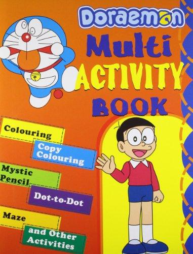 Doraemon Multi Activity Book