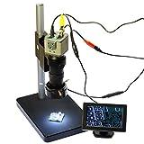 800TVL 130x Mikroskop Industrie Kamera BNC
