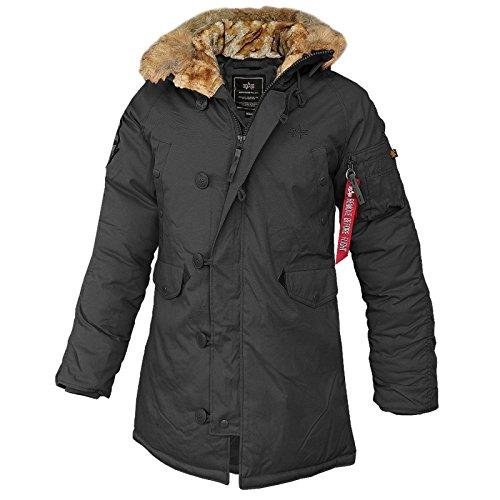Alpha Industries – Explorer Wmn Frauen Winterjacke schwarz jetzt bestellen
