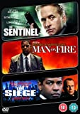 The Sentinel/Man On Fire/The Siege [DVD]