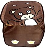 Shree Balaji Home Nylon Laundry Bag (Brown, 28 cm x 28 cm x 90 cm)