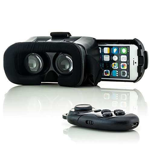 saxonia-vr-box-virtual-reality-3d-brille-bluetooth-gamepad-schwarz-fur-huawei-universal-virtuelle-re