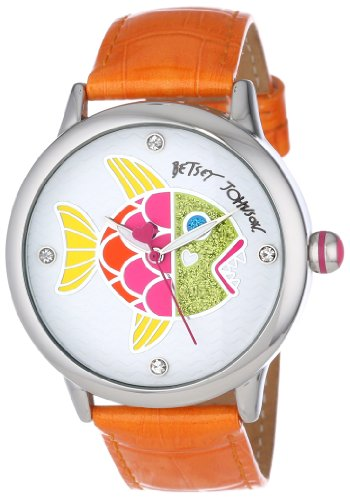 Betsey Johnson Women's BJ00084-32 Analog Fish Dial Watch