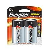 Energizer D Alkaline Batteries