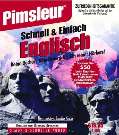 English for German, Q&S: Learn to Speak and Understand English for German with Pimsleur Language Programs (Pimsleur Quick and Simple (ESL)) (German Edition)