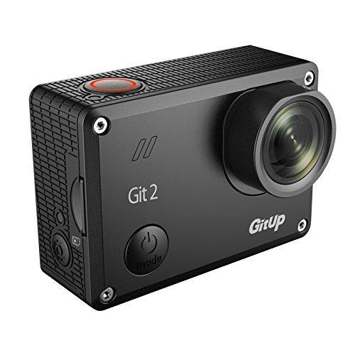 Uphig Git2 2K Wifi 16MP Gitup2 Actionkamera GoPro-Edition +Dual Charger (Git1/Git2)+Batterie+ Pfv Kabel