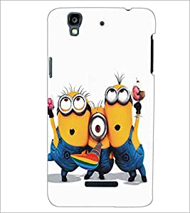 MICROMAX YU YUREKAPLUS PLUS CARTOON CHARACTER Designer Back Cover Case By PRINTSWAG