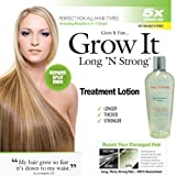 Want Longer Hair? Want Stronger Hair? Grow Hair Fast! Buy Long N Strong® Treatment Lotion - Longer, Thicker Hair! - Split End Repair - Split end treatment!