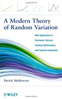 A Modern Theory of Random Variation