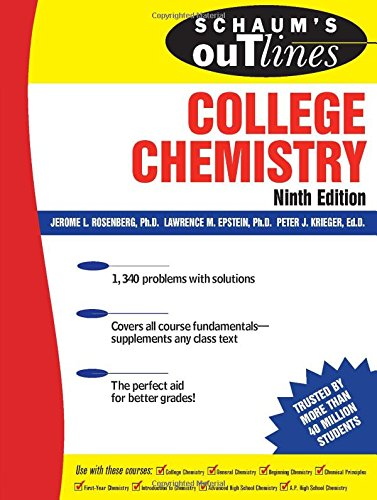 Schaum'S Outline Of College Chemistry, 9Ed (Schaum'S Outline Series)