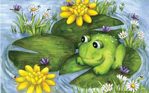 Mr. Frog a 100-Piece Jigsaw Puzzle by Sunsout Inc.