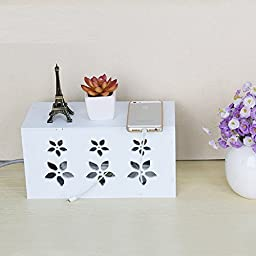 Happy- Creative wire storage box cable management device wire finishing box hub