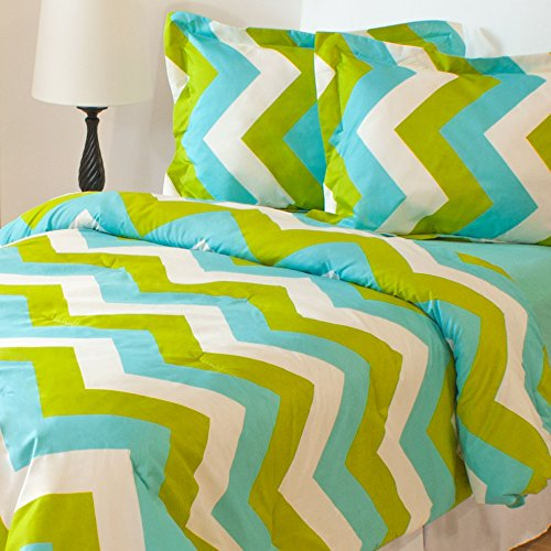 Pisa Chevron Comforter Set Size: Twin/Twin Extra Long (Xl)