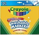 Crayola 12ct Washable Markers