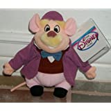"Disney Hard to Find Disney Great Mouse Detective Dawson Mouse 7"" Plush Bean Bag Doll MINT"