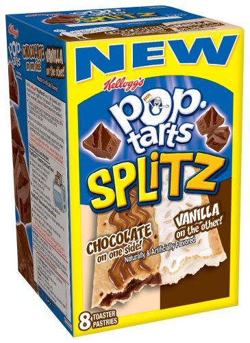 Buy Kellogg's Pop-Tart's Splitz Chocolate Vanilla, 14.1-Ounce, 8-Count Boxes (Pack of 12) (Pop-Tarts, Health & Personal Care, Products, Food & Snacks, Breakfast Foods, Toaster Pastries)
