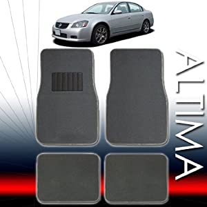 QULAITY UNIVERSAL CARPET CAR FLOOR MATS SET FOR NISSAN ALTIMA AND ALL OTHER SMALL AND MID SIZE CARS WITH BOUNS 24 DISCS CAPACITY CD WALLET