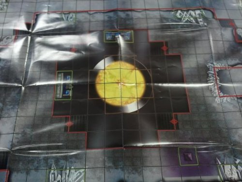 HeroClix: Fortress of Solitude (Metropolis City Map) # M1 (Limited) - Superman