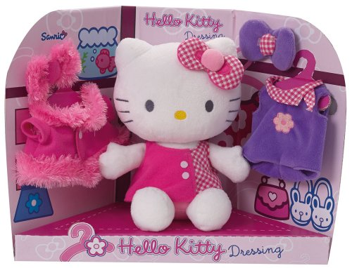 jemini-022676-peluche-hello-kitty-dressing-20-cm