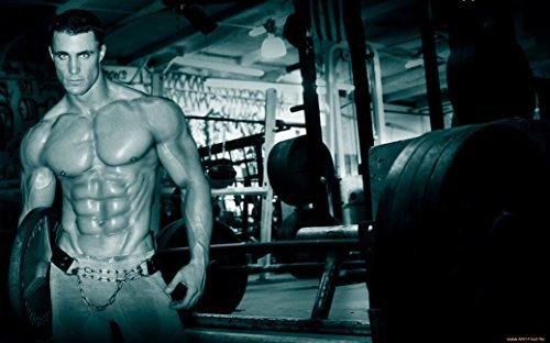 "Greg Plitt Fabric Cloth Rolled Wall Poster Print -- Size: (40"" x 24"" / 21"" x 13"") by NewBrightBase [並行輸入品]"