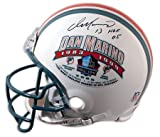 Dan Marino Hand Signed Hall of Fame Helmet