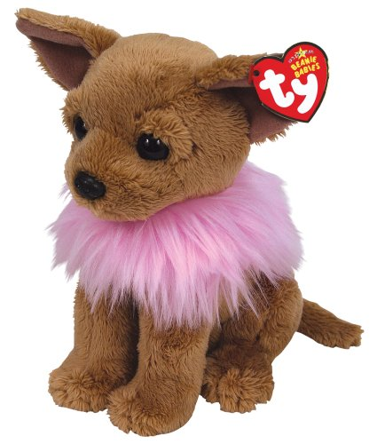 Ty Beanie Babies Divalectable - Chihuahua with Fluffy Shawl