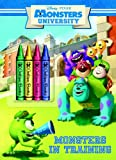 Monsters in Training (Disney/Pixar Monsters University) (Color P... Cover Art