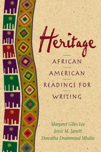 Heritage: African American Readings for Writers (2nd...