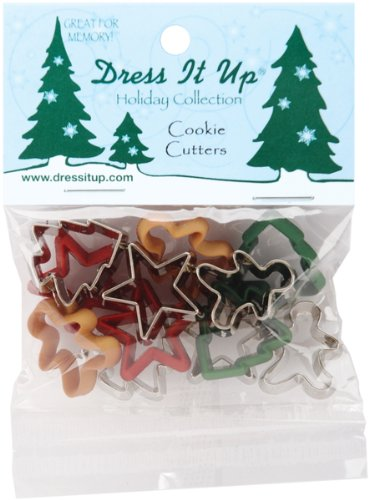Jesse James Dress It Up Holiday Collection Embellishments, Cookie Cutters