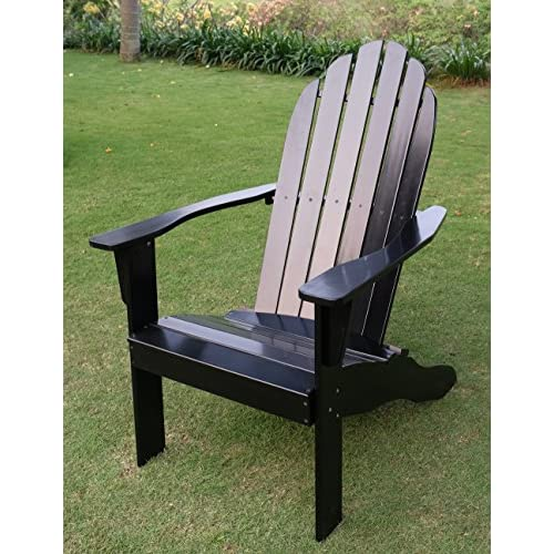 Cambridge-Casual AMZ-240252B Bentley Adirondack Chair, Black