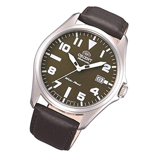 Orient orologio Classic orologio data cinturino in pelle Orologio bracciale uomo classico Automatico fer2d009F0