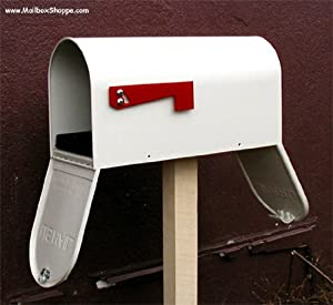 Two Door Metal Mailbox