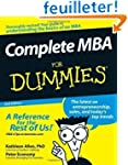 Complete MBA For Dummies by Allen PhD...