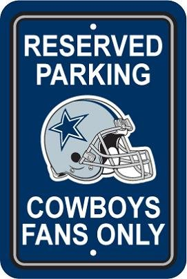 NFL Dallas Cowboys Plastic Parking Sign at Amazon.com