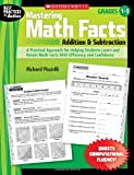 img - for Mastering Math Facts: Addition & Subtraction: A Practical Approach for Helping Students Learn and Retain Math Facts With Efficiency and Confidence book / textbook / text book