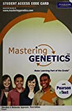 MasteringGenetics with Pearson eText -- Standalone Access Card -- for iGenetics: A Molecular Approach (3rd Edition)