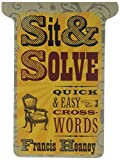 img - for Sit & Solve  Quick & Easy Crosswords (Sit & Solve  Series) book / textbook / text book