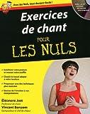echange, troc Vincent Bonzom, Eléonore Jost - Exercices de chant pour les nuls