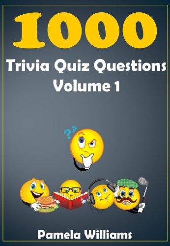 1000 Trivia Quiz Questions Volume 1 (1000 range)