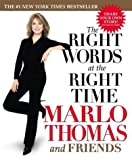 The Right Words at the Right Time (074344650X) by Thomas, Marlo