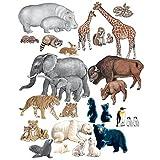 Wild Animals - PRE-CUT Flannelboard Figures